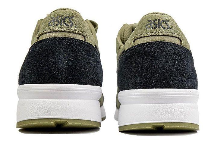 Asics Gel Lyte Aloe Black Heel Shot