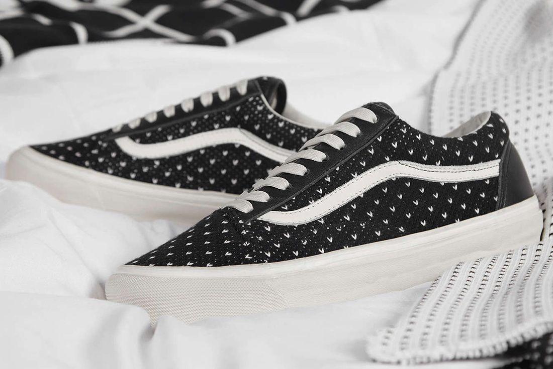 End X Vans Old Skool Winter Wool Sneaker Freaker 3