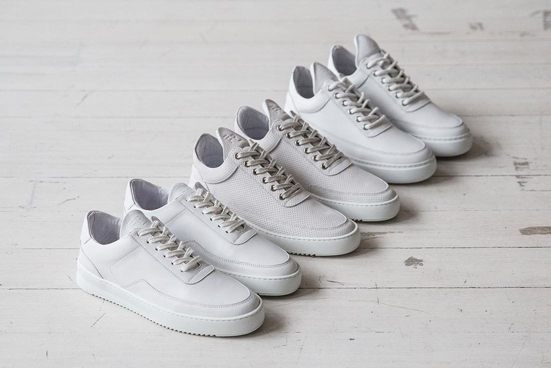 Filling Pieces Low Top White 2