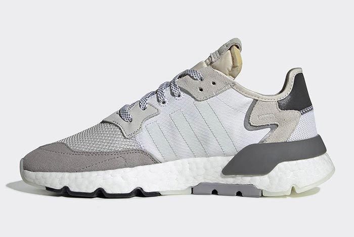 Adidas Nite Jogger Footwear White 3