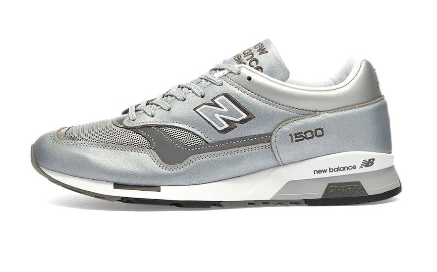 New Balance 1500 Metallic Silver Left