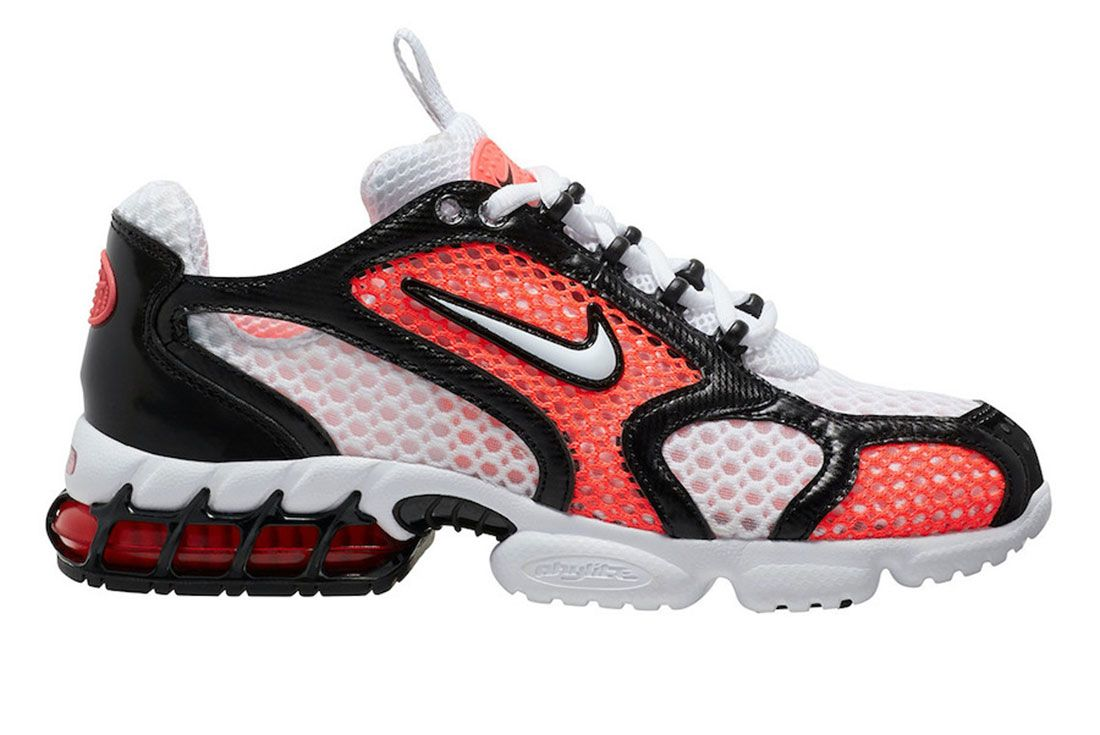 Nike Zoom Spiridon Cage 2 Black Infrared Lateral