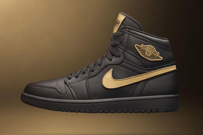 Nike Jordan 2017 Bhm Collection Air High Black