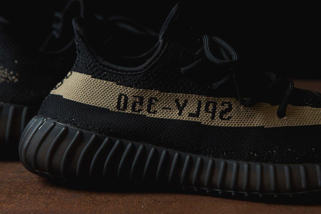 Adidas Originals Yeezy Boost 350 V2 Black Copper Solar Red Green 52