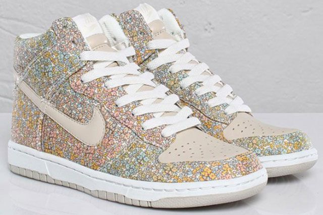 Womens Nike Dunk High Skinny Liberty London 1