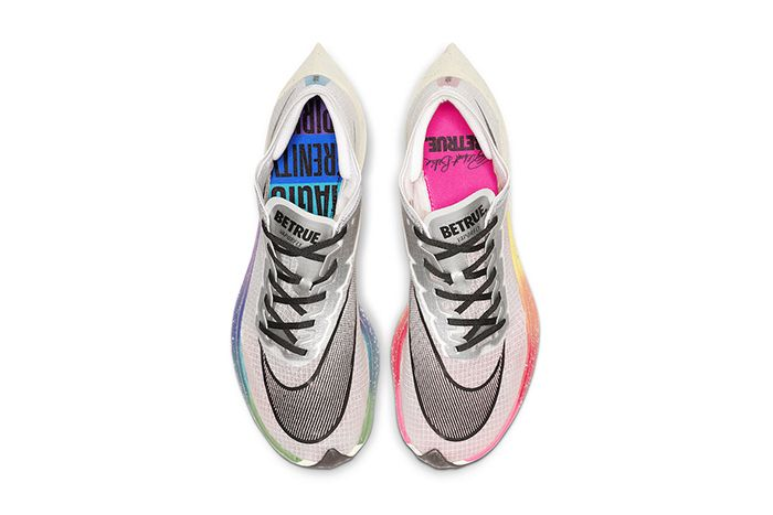 Nike Zoomx Vaporfly Next Percent Betrue White Guava Ice Black Ao4568 101 Release Date Top Down