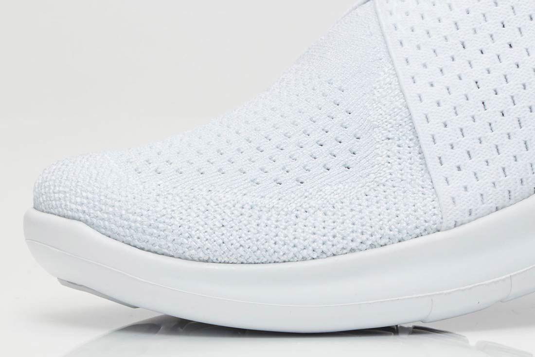 Nike Free Rn Motion 2017 Flyknit Whitegrey 2
