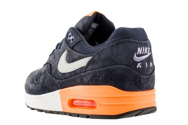 Nike Air Max 1 Prm Dark Obsidian Atomic Orange 1