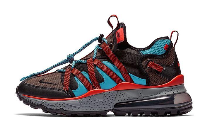 Nike Air Max 270 Bowfin Aqua Red Brown 2