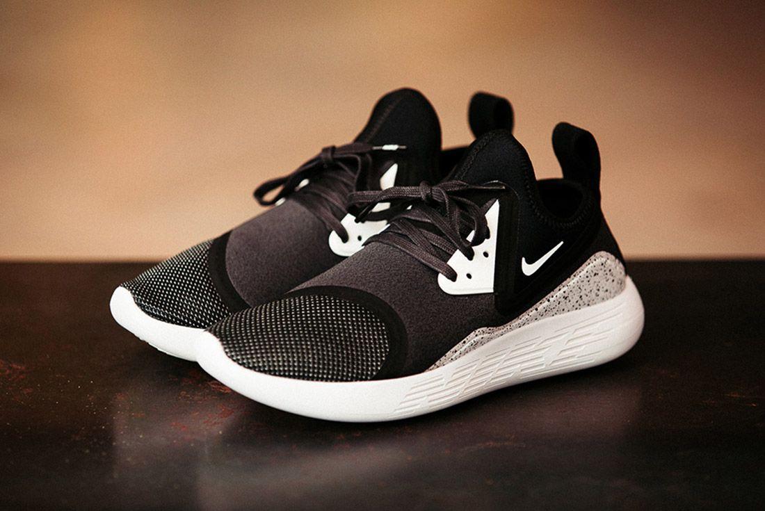 Nike Lunarcharge Black White 1