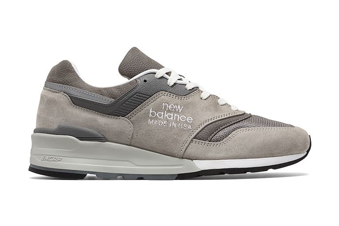 New Balance 997 M997Gd1 Grey Release Date Lateral
