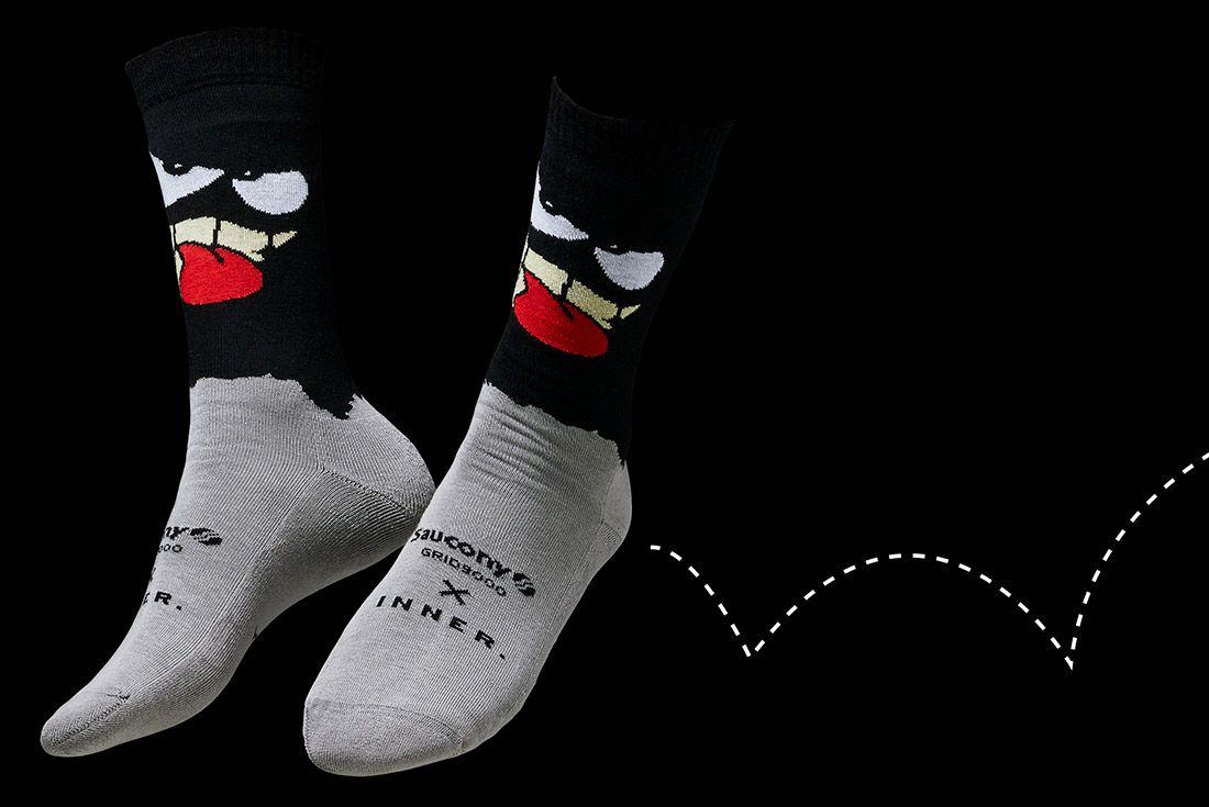 3 Socks Saucony Grid9000 Milano Inner Antonioli Copia