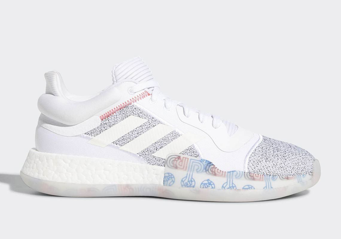 Adidas Marquee Boost White Low 6