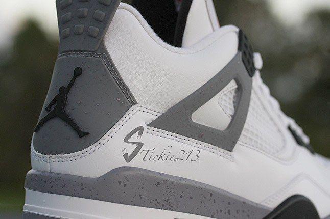 Air Jordan Cement 4 9 1