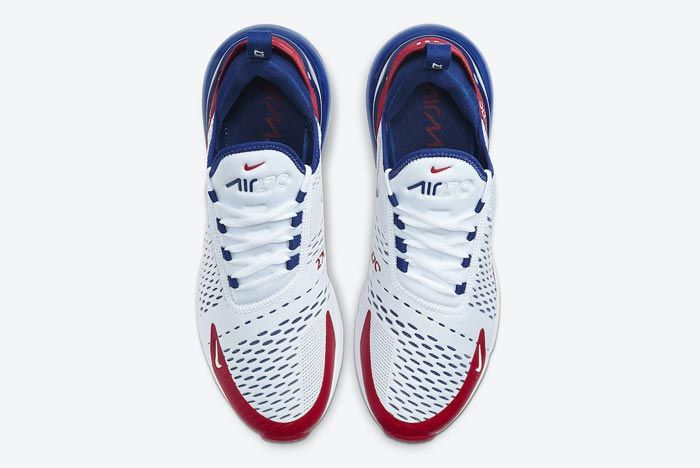 Nike Air Max 270 Red White Blue Top