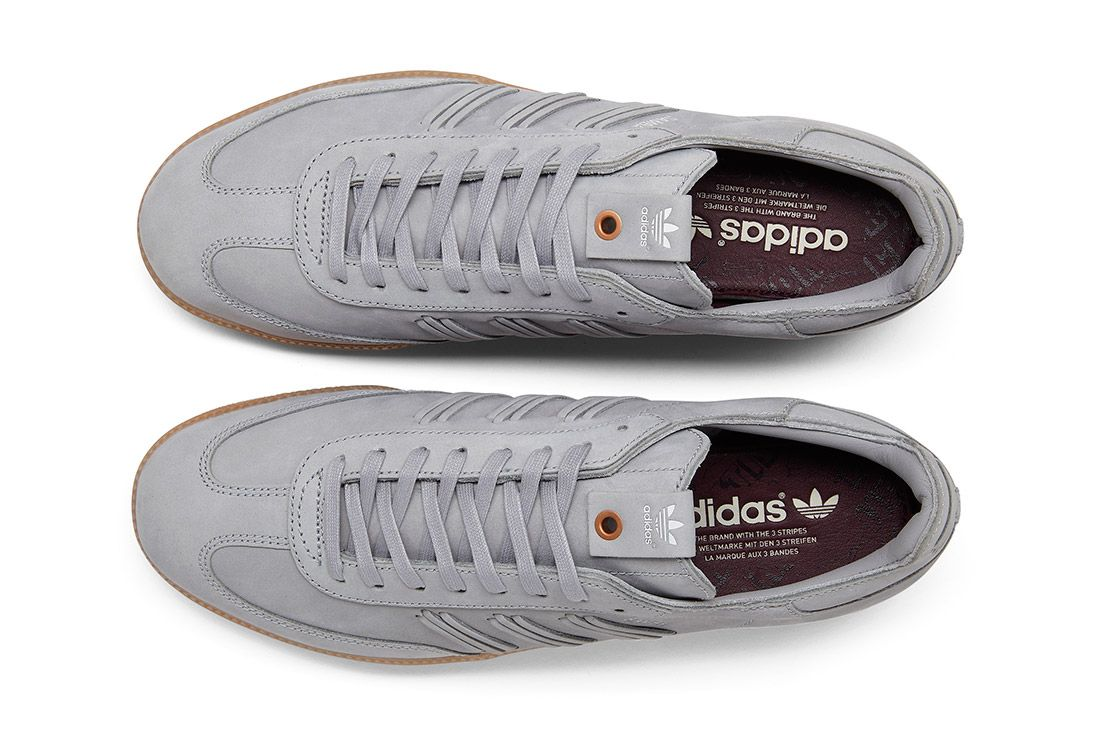 Adidas Consortium Womens Samba Deep Hue Pack Grey 1
