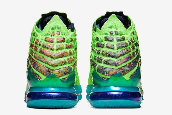 Nike Lebron 17 Mr Swackhammer Heel