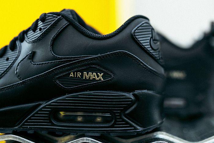 Nike Air Max 90 Black Gold Sneaker Freaker 4