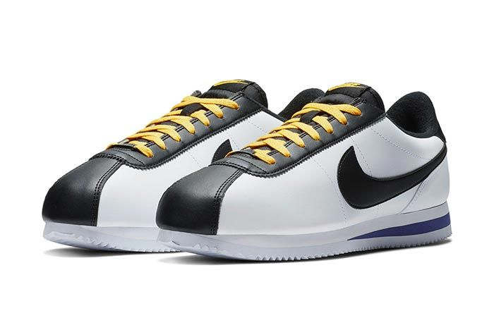 Nike Cortez White Black 1