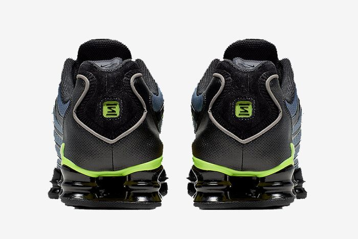 Nike Shox Tl Thunder Storm Volt Heel