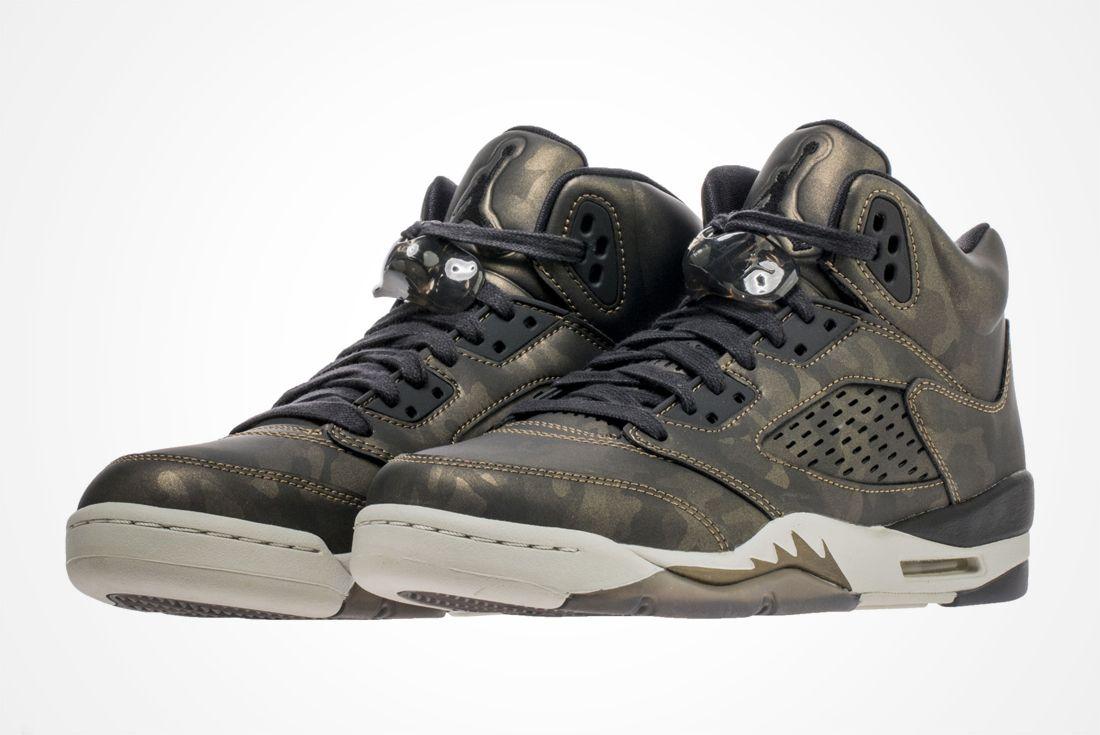 Air Jordan 5 Gs Camo 2