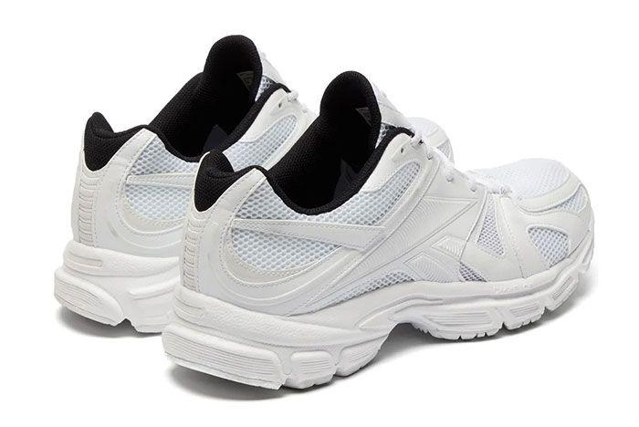 Vetements Reebok Spike Runner 200 White Heel