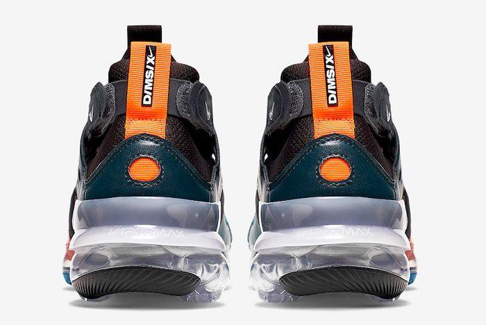 Nike Air Vapor Max Dmsx Mineral Teal Heel