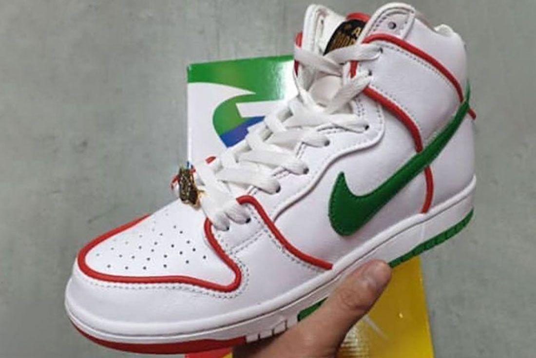 Paul Rodriguez Nike Sb Dunk High Boxing Release Date 1Leaked Shots