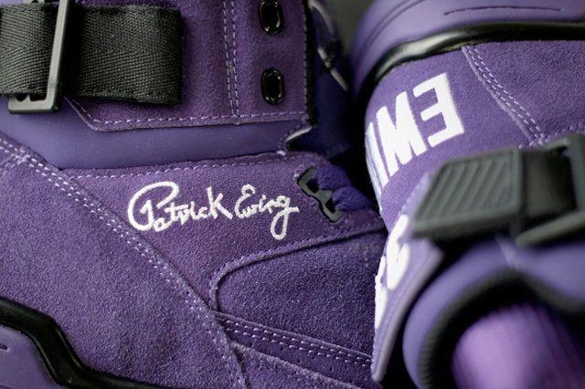 Ewing Athletics 330Hi Purple Suede 5
