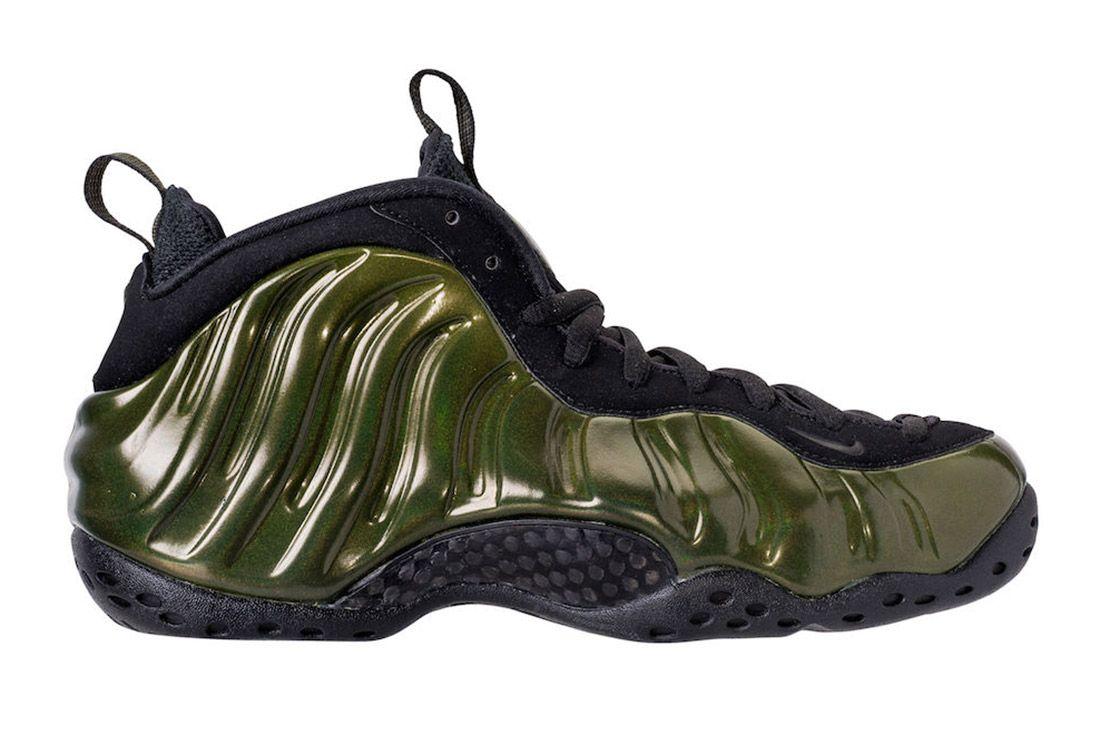 Nike Air Foamposite Legion Green 1