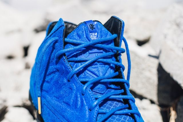 Nike Lebron 11 Ext Blue Suede 8