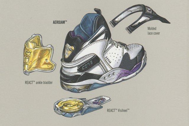 Converse Aerojam Catalogue Illustration