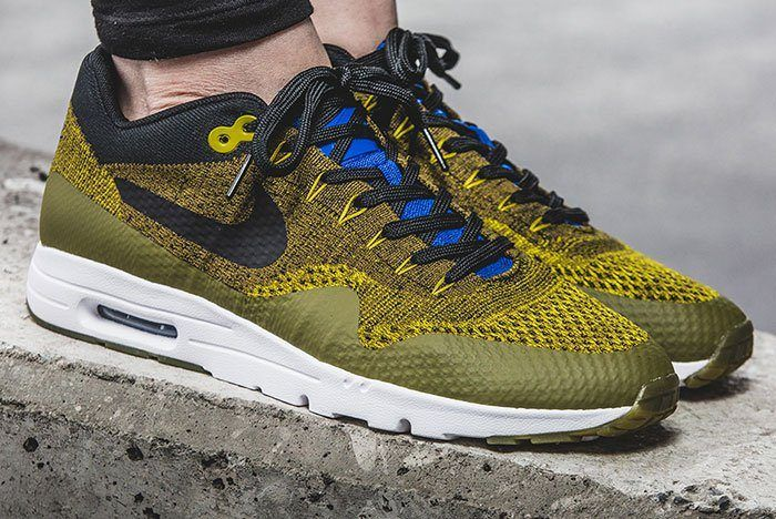 Nike Air Max 1 Ultra Flyknit Wmns Olive 10
