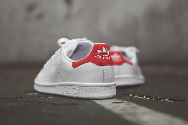 Adidas Originals Stan Smith Og White Red 4