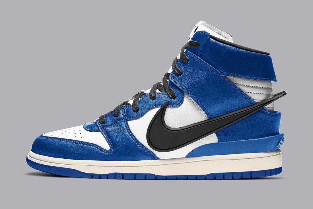 AMBUSH x Nike Dunk High Deep Royal