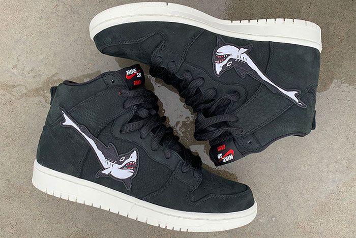 Oski Nike Dunk Sb High Wide