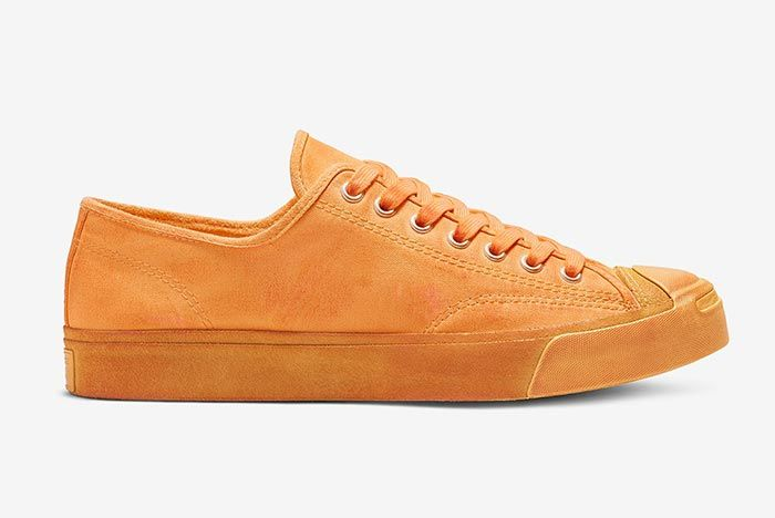 Converse Jack Purcell Orange Right Side Shot