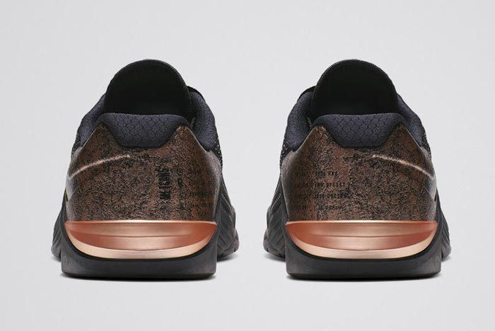 Nike Metcon 5 Medal Strong Pack Rose Gold Womens Heels