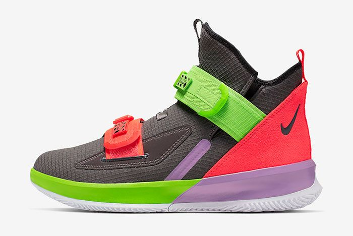 Nike Le Bron Soldier 13 Thunder Grey Ar4228 002 Release Date
