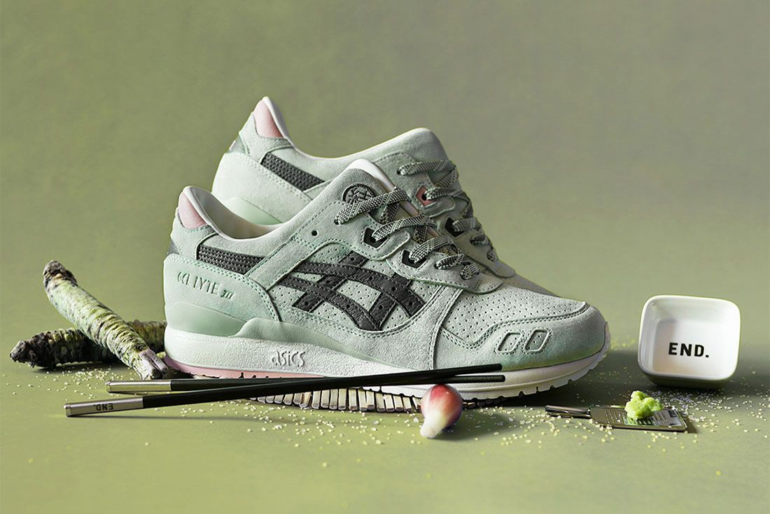End Asics Gel Lyte Iii Wasabi