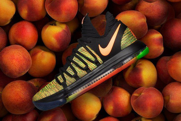 Nike Produce Peach Jam Kd 10 Exclusively For The Eybl