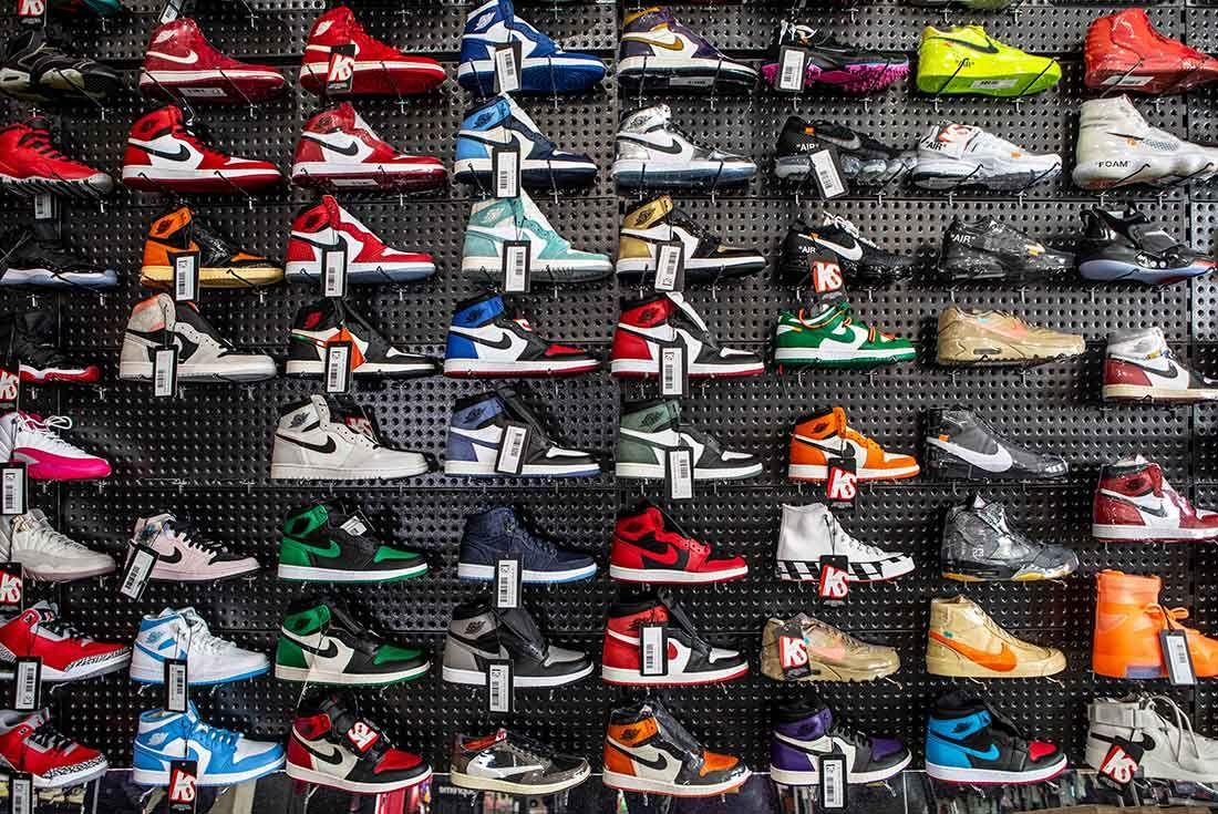Kickstw Jordan Wall