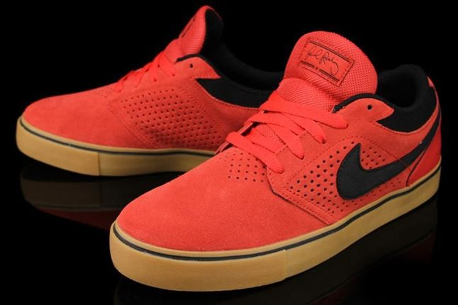 Nike Sb P Rod 5 Lr Hyper Red Angle 1