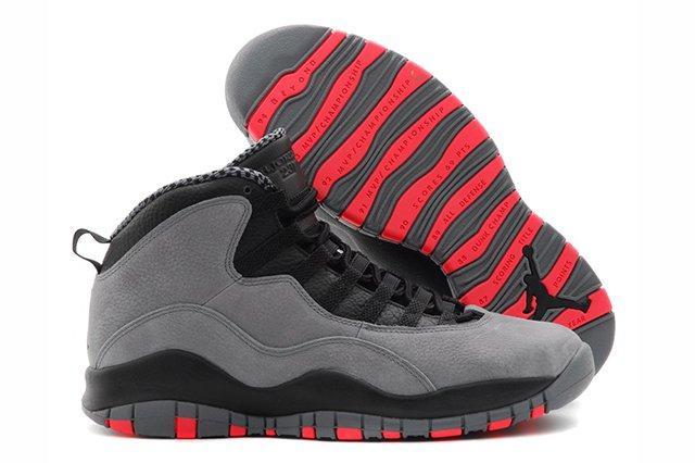 Air Jordan 10 Cool Grey Infrared 1