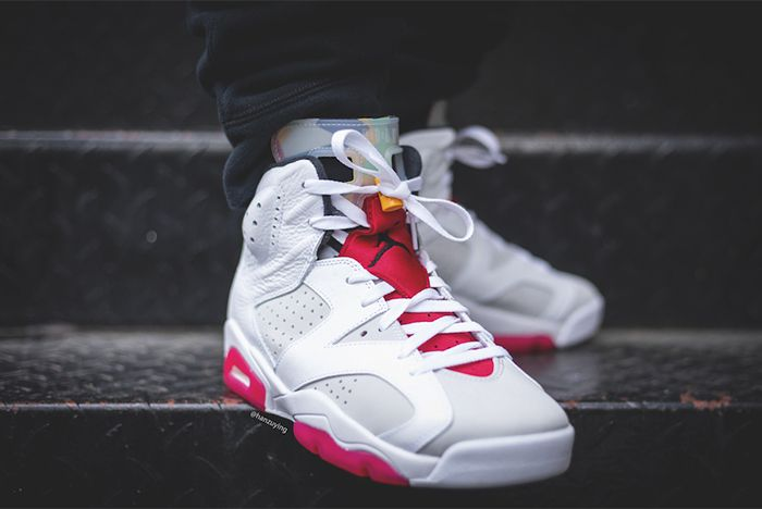 Air Jordan 6 Hare Toe