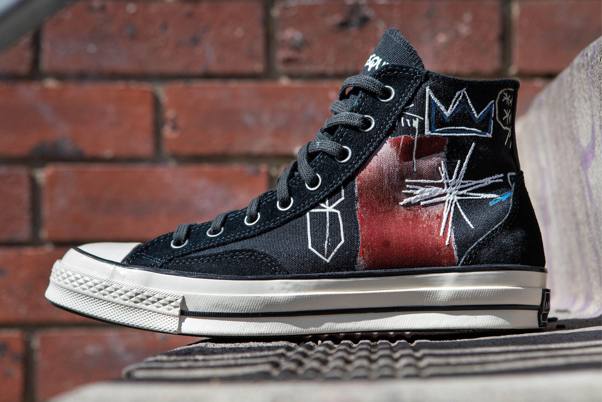 Jean-Michel Basquiat x Converse Chuck 70