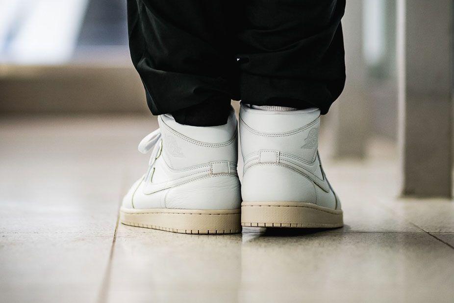 Afew Store Sneaker Air Jordan 1 Retro High Prem Pure Platinum Desertsand 315 Sneaker Freaker