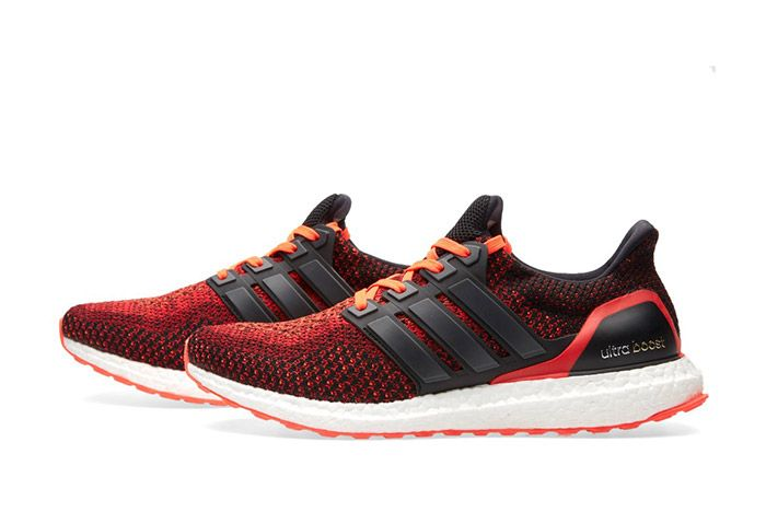Adidas Ultra Boost M Black Red 6