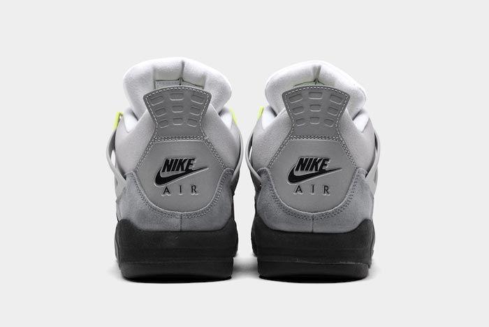 Air Jordan4 Neon Heels