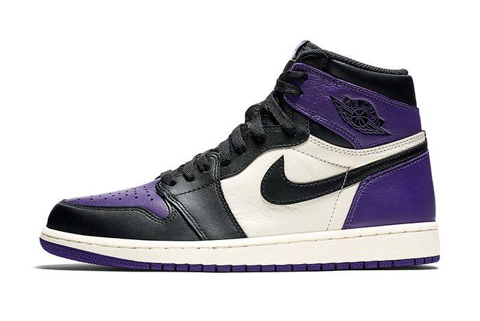 Air Jordan 1 Retro High Og Pine Green Court Purple 5